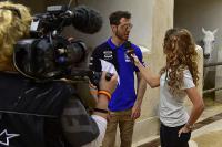 Film: Arnaud Tonus aan het woord vanuit de pits in Qatar
