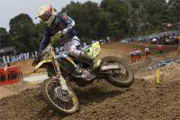 Jeremy Seewer oppermachtig in eerste manche GP MX2 in Mexico