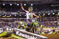 Animatielap AMA Supercross track in Minneapolis