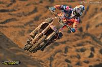 Jeffrey Herlings in de top tien in tweede manche MXGP in Mexico