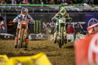 Animatielap AMA Supercross circuit in East Rutherford