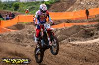 Loeka Thonies in de top tien in Dutch Masters 125cc in Emmen