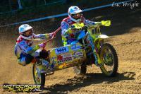 Zie hoe Willemsen en Bax domineerden in de GP zijspancross in Letland