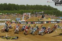 Mikkel Haarup victorious in second moto EMX125 in Ottobiano