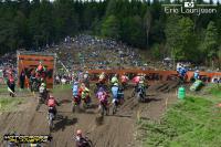Video hoogtepunten tweede manches EMX125 en EMX150 in Zweden
