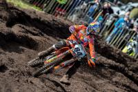 Jeffrey Herlings van start in int.wedstrijd in Hawkstone Park