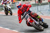 Devon Vermeulen pakt podiumplaats in BeNeCup Supermoto in Enter