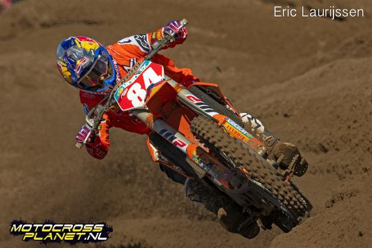 Jeffrey Herlings niet van start in Red Bull Knock Out
