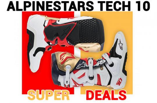 Alpinestars Tech 10 Super Aanbieding bij Outlaw Racing!