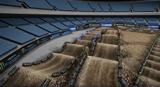 Film: Hoe ziet het AMA Supercross circuit van Oakland eruit?