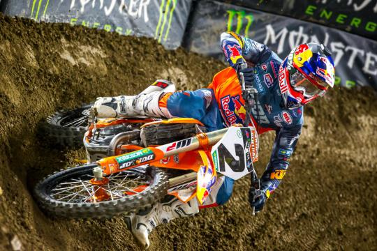Hoogtepunten en reacties AMA Supercross in Arlington