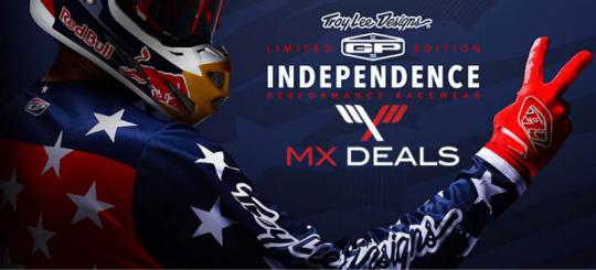 TLD Limited Edition Independence en Mirage nu bij MX Deals leverbaar!