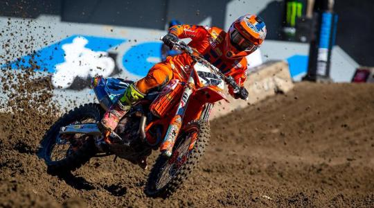 Film: Blake Baggett in training voor Anaheim 1