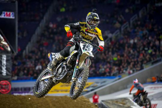Film: Dean Wilson in top vorm naar Supercross Daytona
