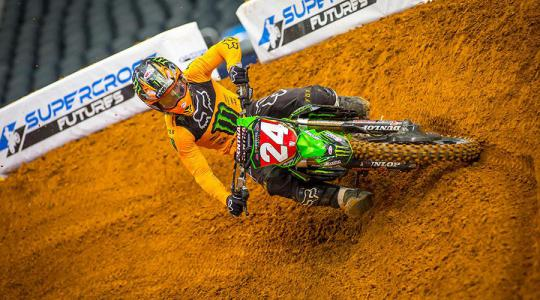Volledig TV verslag AMA Supercross Arlington