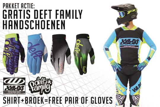 WLM is sinds kort dealer van Deftfamily handschoenen.