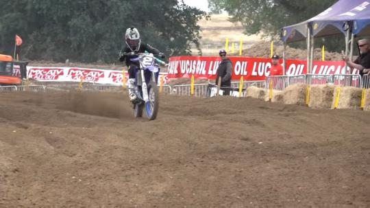 Film: Ryan Villopoto wint 125 All Star Race in Hangtown