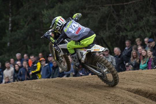 Kay de Wolf zegeviert in Dutch Masters 125cc in Rhenen