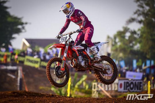 Glenn Coldenhoff vierde in eerste manche MXGP in Indonesie, Gajser wint