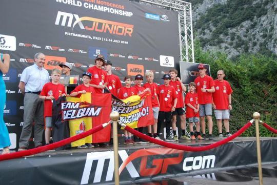 WK Motorcross junior in Pietramurata : leerrijk voor de Belgen