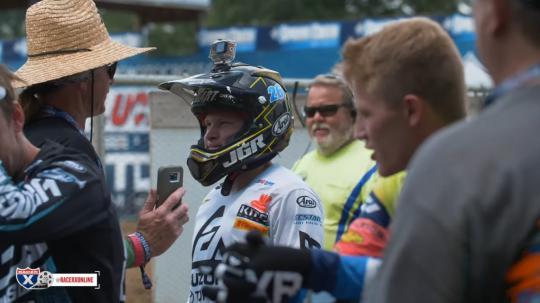 Film: Baantest AMA Pro Motocross Millville met JGR Yoshimura Suzuki
