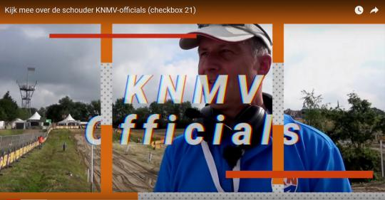 Kijk mee over de schouder KNMV-officials (checkbox 21)