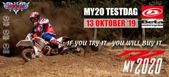 13 Oktober Beta MY20 Test dag bij Resa-Racing