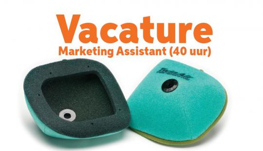 Vacature Marketing Assistant (40 uur)