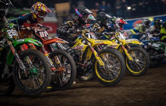 Hsu en Maillard winnen finales Dutch Supercross Zuidbroek