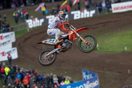 Zo hard traint Jeffrey Herlings