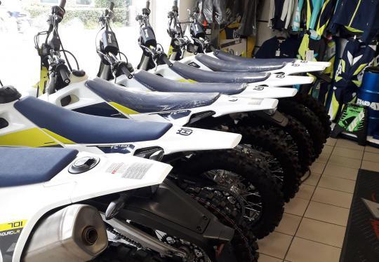 Aangevulde voorraad Husqvarna en Yamaha  bij Ovaa Motors