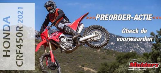 Honda CRF450R/250R 2021 pre-order actie