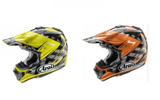 De nieuwe kleuren van de Arai MX-V zijn voorradig bij JTX Racing Cuijk
