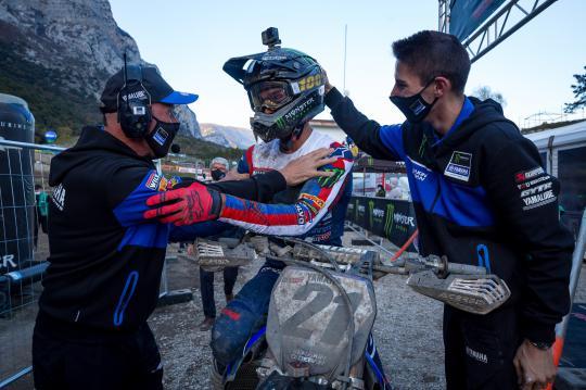 Film: Louis Vosters van Monster Energy Yamaha Factory Racing MXGP blikt uitgebreid terug op 2020
