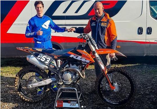 Jan Pancar tekent contract met het Racestore KTM team voor 2021