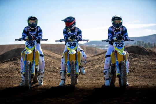 Suzuki stelt haar officiële team voor in het AMA Supercross en Pro Motocross Kampioenschap 2021