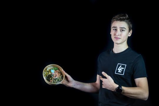 Foodmaker wordt hoofdsponsor van Liam Everts in 2021