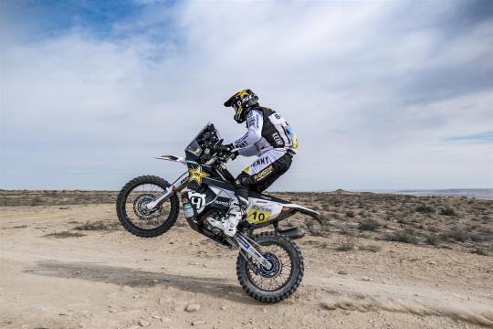 Skyler Howes wint tweede etappe Rally van Kazachstan
