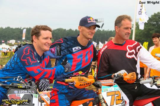 Photo of Ricky Carmichael & his friend   -