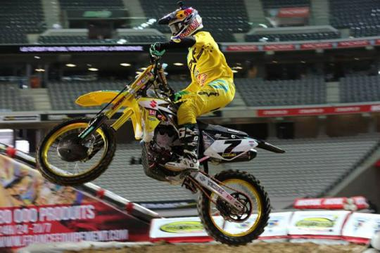 James Stewart out for the Australian SX Open / Carmichael and Webb in