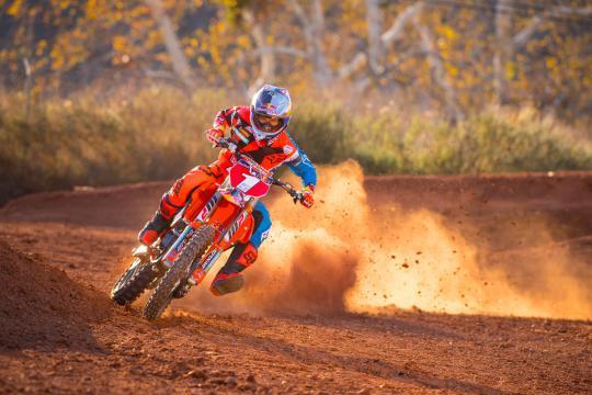 Film: Ryan Dungey wide open op een KTM 150 model 2019