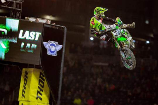 Movie: Tomac Proves Unstoppable In Detroit With Fourth-Straight Win