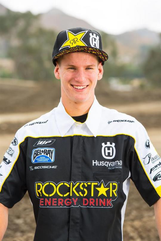 MICHAEL MOSIMAN JOINS ROCKSTAR ENERGY HUSQVARNA FACTORY RACING FOR 2017 AMA PRO MOTOCROSS SEASON