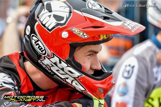 Micha Boy de Waal achtste in de Dutch Masters of Motocross MX1