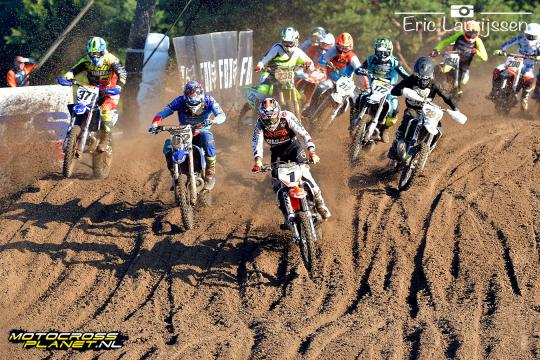 Video hoogtepunten tweede manches EMX125, EMX150 en EMX300 in Lommel