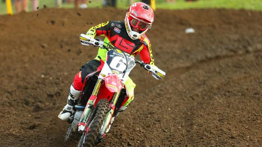 250MX: Jeremy Martin takes muddy Moto 2 to win overall at Unadilla