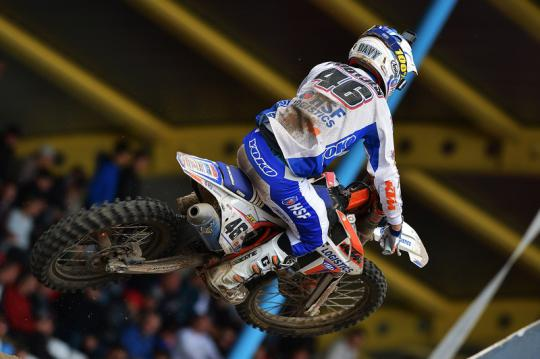 Davy Pootjes scoort top tien plaats in Grand Prix MX2 in Assen