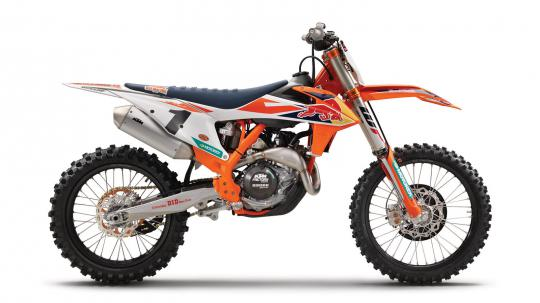 KTM presenteert KTM 450 SX-F 2018 Factory Edition