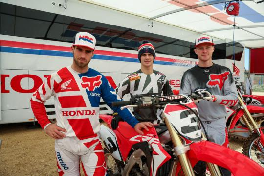 Movie: HRC Honda rider Calvin Vlaanderen speaks about the new bike