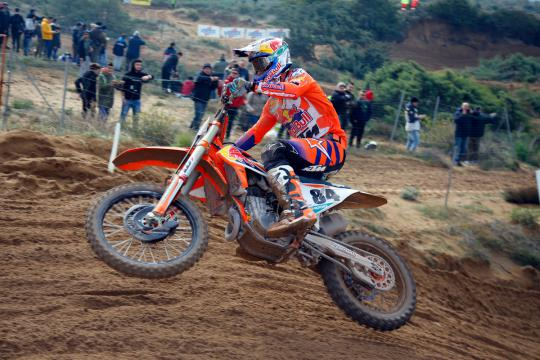 Jeffrey Herlings pakt pole position in Hawkstone Park